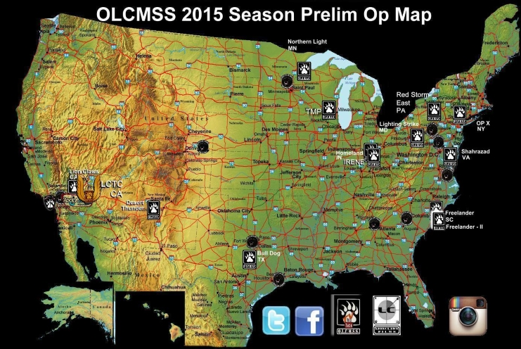 OLCMSS Map